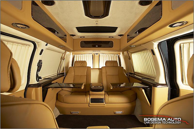 CHEVROLET Express Conversion Van и GMC Savana тюнинг