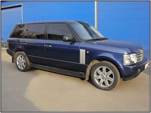 удлинённый RANGE ROVER Vogue
